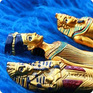 Egyptain,Collector 3 Pens,Gift Queen Nefertiti, King Tutankhamun And Pharoah