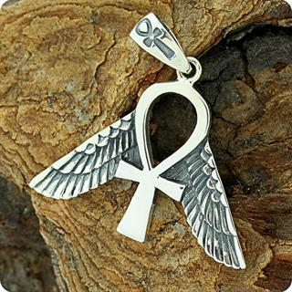 Egyptian Jewelry, Freedom Ankh Symbol Pendant