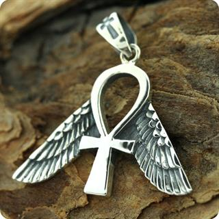 Egyptian Jewelry, Freedom Ankh Symbol Pendant