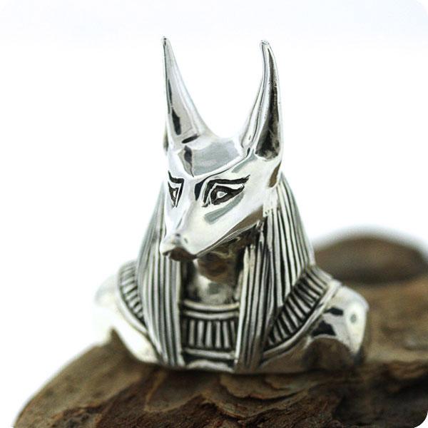 Mojoii egyptian jewelryanubisjackaldeath godegyptian zodiac ancient egyptian silver god anubis lord of the deadpendant aloadofball Images
